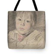 Head Of A Boy Tote Bag