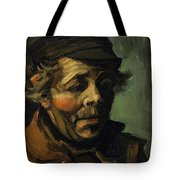 Head Of A Peasant With Cap Tote Bag