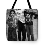 Here We Are  Tote Bag