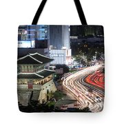 Heunginjimun Gate In Seoul Tote Bag