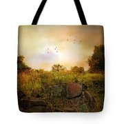 Hilltop Meadow Tote Bag