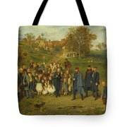 His Highness On A Journey Tote Bag