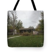 Historic Mormon Cabin Tote Bag