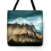Holy Kailas East Slop Himalayas Tibet Yantra.lv Tote Bag