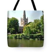 Holy Trinity Church At Stratford-upon-avon Tote Bag