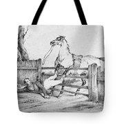 Horserider, C1840 Tote Bag