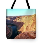 Horseshoe Bend Colorado River Arizona Usa Tote Bag