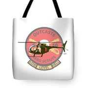 Hughes Oh-6a Cayuse Miss Clawd Iv Tote Bag