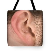 Human Ear Tote Bag