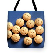 Hydromorphone 2 Mg Tablets Tote Bag