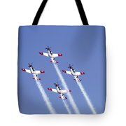 Iaf Acrobatic Team Tote Bag