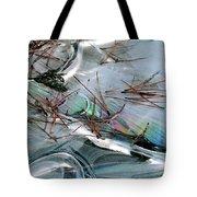 2. Ice Prismatics 1, Slaley Sand Quarry Tote Bag