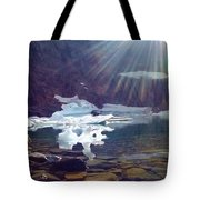 Iceberg Lake Tote Bag