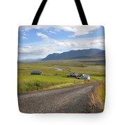 Iceland Landscape Tote Bag