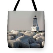 Icy Light Tote Bag