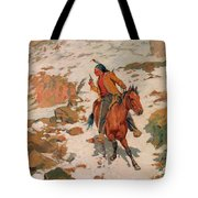 In Hot Pursuit Tote Bag