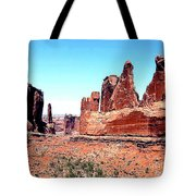 In Monument Valley, Arizona Tote Bag