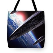 Independence Day 1996 Tote Bag