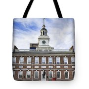 Independence Hall Philadelphia Tote Bag