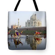India's Taj Mahal Tote Bag