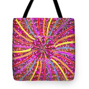 Infinity Star Flower An Abstract Fineart Expression By Navinjoshi At Fineartamerica.com Colorful Spe Tote Bag