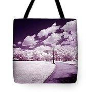 Infrared Garden Tote Bag