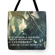 Island Greeting Quote Tote Bag