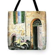 Italian Alley Tote Bag