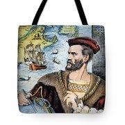 Jacques Cartier (1491-1557) Tote Bag