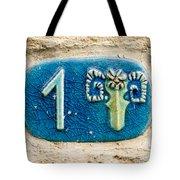 Jaffa, Zodiac Street Sign  Tote Bag