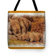 Jazi And Mom Tote Bag