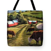 Jenne Farm In Reading Vermont Tote Bag