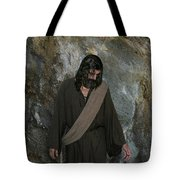 Jesus Christ- Rise And Walk With Me  Tote Bag