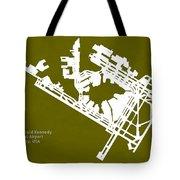 Jfk John Fitzgerald Kennedy International Airport In New York Ci Tote Bag