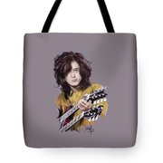 Jimmy Page 1 Tote Bag