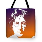 John Lennon The Legend Tote Bag