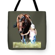 Just A Girl And Her Horse  Tote Bag