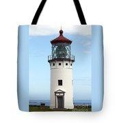 Kilauea Lighthouse On Kauai Tote Bag