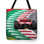 Kimi Raikkonen Austria 2018 Tote Bag
