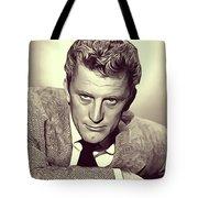 Kirk Douglas, Vintage Actor Tote Bag