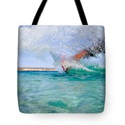 Kitesurfing Tote Bag by Stelios Kleanthous