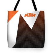 Ktm Ready To Race  Tote Bag