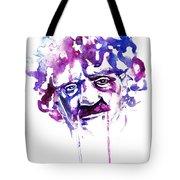 Kurt Vonnegut Tote Bag by Alexandra-Emily Kokova