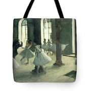 La Repetition Au Foyer De La Danse  Tote Bag