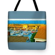 Last Light Of The Day Tote Bag