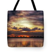 Layered Clouds Tote Bag