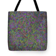 Leaves In Abstract  Tote Bag