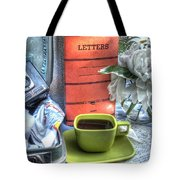 Letters From Home Tote Bag