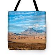 Licancabur Volcano View Tote Bag