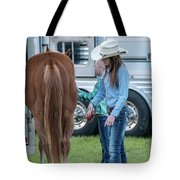 Lil' Cowgirls Tote Bag